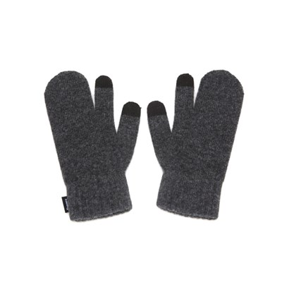 FENNEC KNIT TIMI GLOVES_ver.3 - CHARCOAL