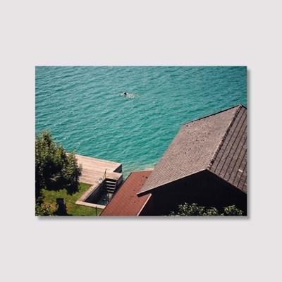 Flying in the lake wolfgang - Jitten 인테리어 포스터