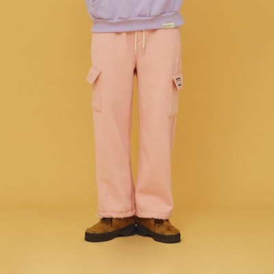 NEONMOON 20FW Cotton Pocket Pink Pants