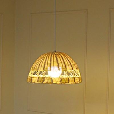 LED 펜던트 애슐리 1등 라탄 카페 매장조명_(1965142)