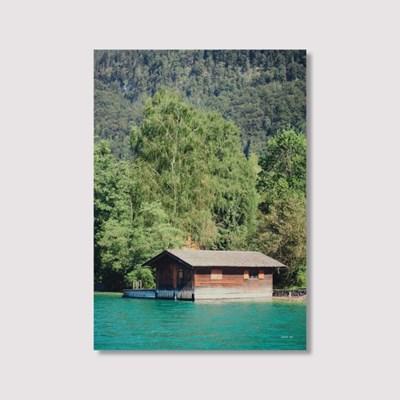 Floating house - Jitten 인테리어 포스터