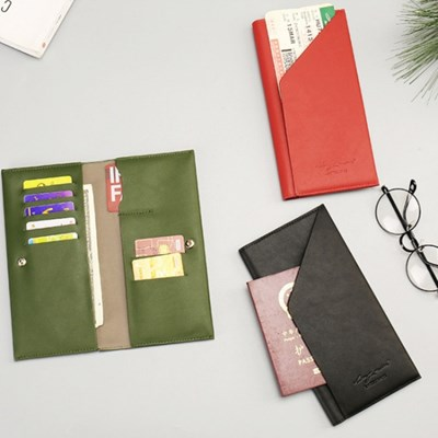 트래블 멀티포켓 여권지갑/ 커플 여권케이스