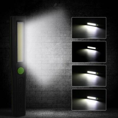 LED 자석 부착 핸디 작업등 비상등 (건전지 포함)