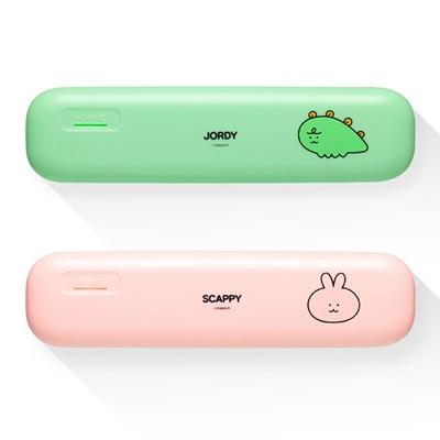 카카오 니니즈 휴대용 UV램프 칫솔살균기 USB충전겸용
