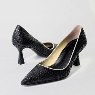 5,7,9cm wild stiletto (black print)
