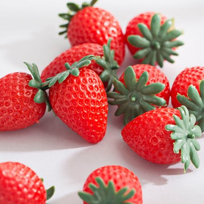 딸기 모형(4.5cm_10개)