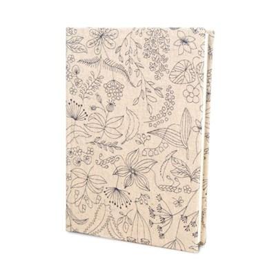 DIY북아트1216 식물꽃라인 노트만들기 KIT