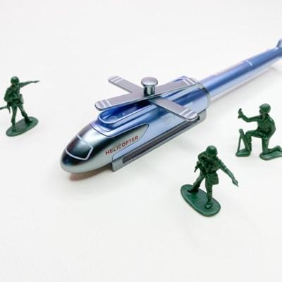 [맙소사잡화점] A-19 헬리콥터 전투기 모형 젤 펜