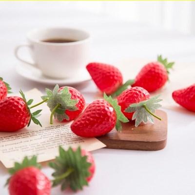 딸기 모형 10P(5cm)