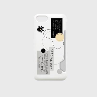 special day sticker 디자인 카드수납케이스 핸드폰케이