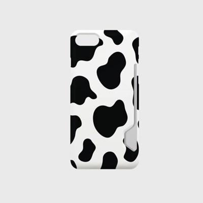 밀키밀크 디자인 카드수납케이스 핸드폰케이스