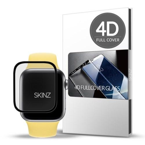 스킨즈 애플워치SE 4D 풀커버 강화유리 필름 44mm 1매_(901230394)