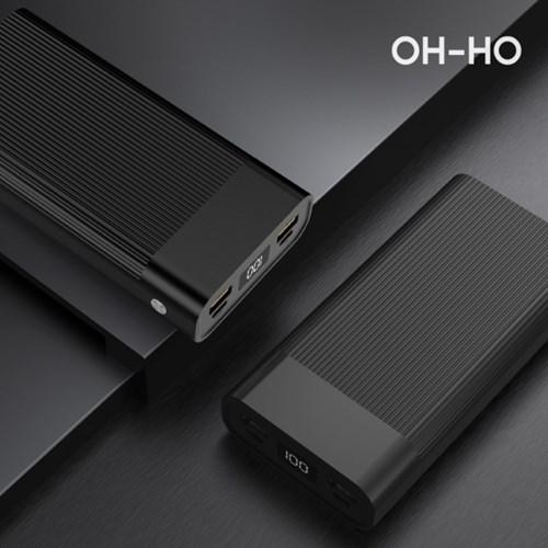오호 대용량 고속충전 USB PD 보조배터리 20000mAh PWX0_(1477779)