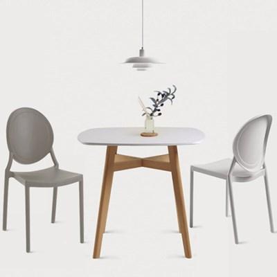 루턴 2인용 식탁 세트(의자포함)