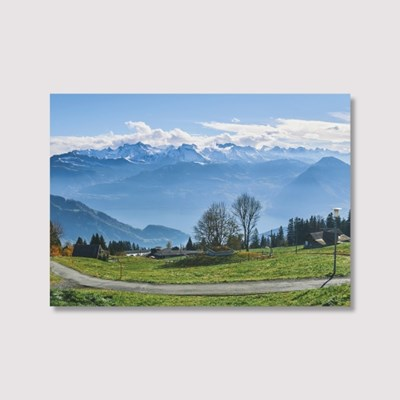 In Switzerland - Jitten 인테리어 포스터