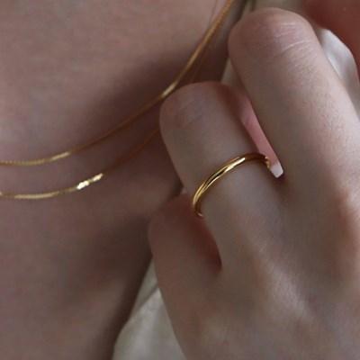 basic bold ring (gold)