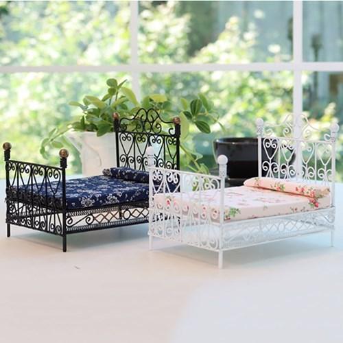 앤틱 철제 침대 2color