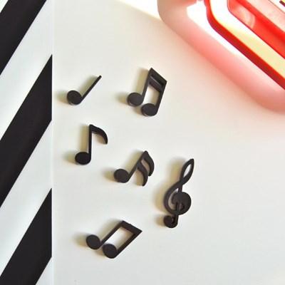 음표 마그넷 자석(6개 1세트)