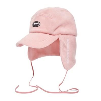 비에스더블유 후리스 이어플랩캡 핑크