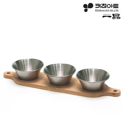 키친아트 일품 소스볼3+트레이_(2657335)