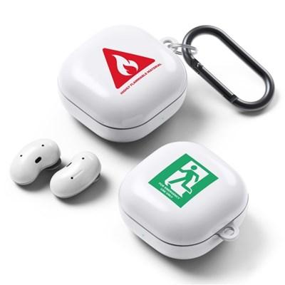 PLANA 안전제일 시리즈 갤럭시 버즈 라이브 / 프로 하드 케이스