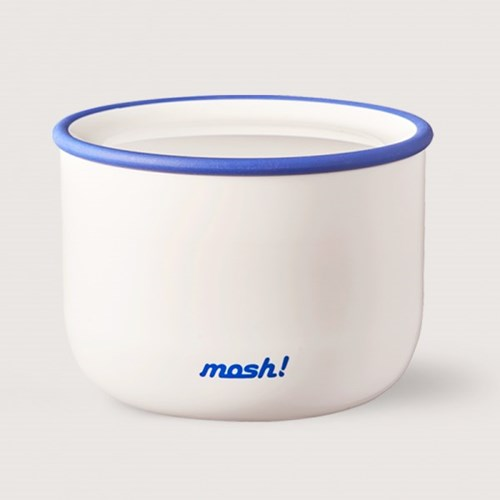 [MOSH] 모슈 라떼 런치박스 480 화이트