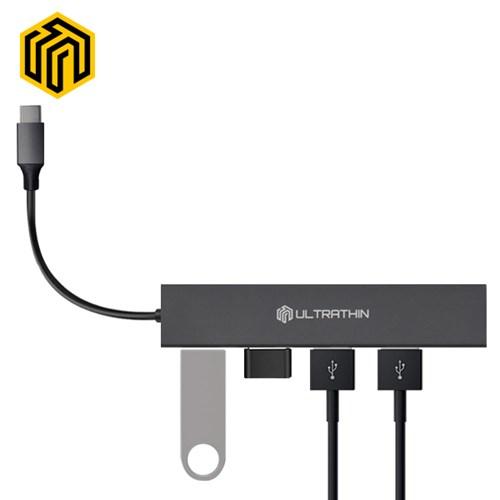 웨이코스 씽크웨이 CORE D4C 울트라씬 USB3.0 4포트허브(TYPE-C)