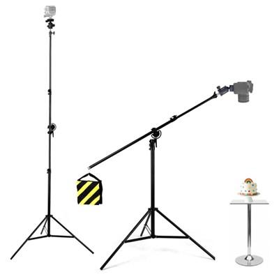 본젠 LT-339 카메라 조명 수직촬영 붐스탠드 + VD-301H 볼헤드 SET