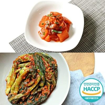[HACCP] 한옹 꼴깍 400g + 갓김치 1kg