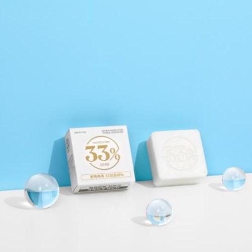 33%soap 110g 천연수제비누 온 가족 친환경 고급 화장 보습비누