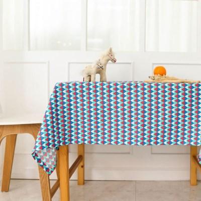 인디언 삼각 방수 식탁보 테이블보