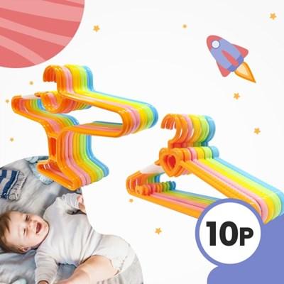 보노 유아동 옷걸이 러블리_에어플레인 10개 세트 (국내_(3024236)