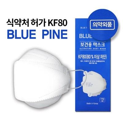 보건용 황사/미세먼지 마스크 KF80 (대형) 50매