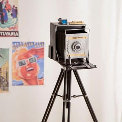 복고 폴딩 카메라