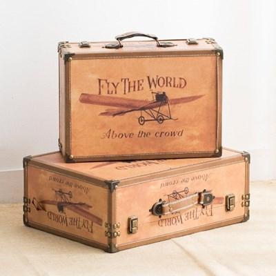 엔틱 비행기 가방