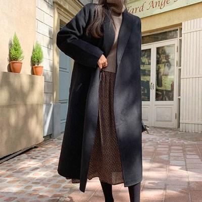 [HANDMADE] 세인트클래식 핸드메이드롱코트(wool 15%)_(4009171)