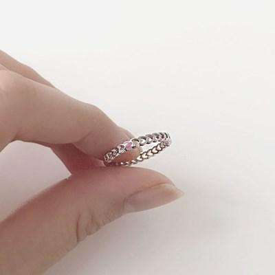 [925실버] 샐리하트링 반지