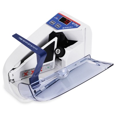 휴대용 지폐계수기 V-70 돈세는기계 상품권계수가능_(1185467)