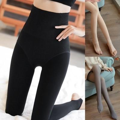 복부 압박 보정 힙업 하이웨스트 레깅스 여성 스타킹 유발 고리발