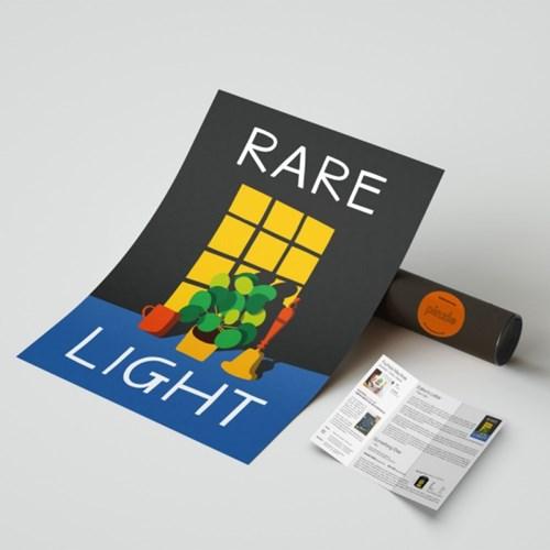 핀즐 37. Rare Light (A1아트포스터+에디터스레터)