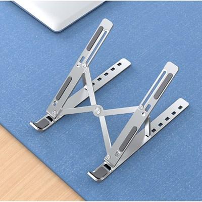 휴대용 접이식 알루미늄 노트북받침대 1단