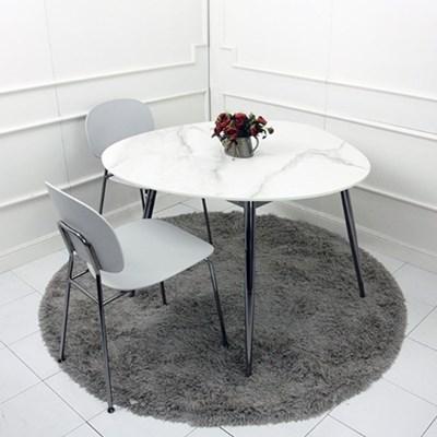 르마블포세린테이블 클램 디자인 인테리어 세라믹 다이닝 테이블