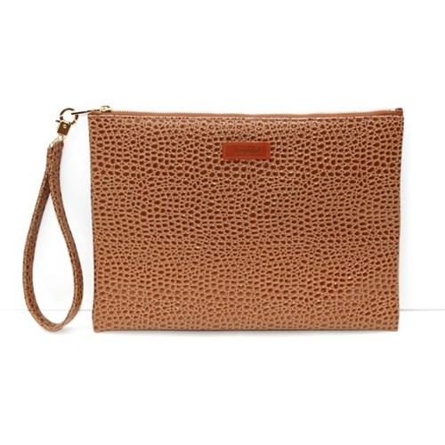 헤이플 누보 클러치백 nebo clutch bag C17-BROWN