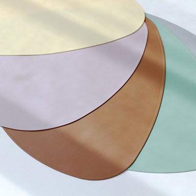 파스텔 실리콘 오벌테이블매트-5color