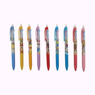 디즈니 캐릭터 지워지는 3색 볼펜
