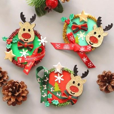크리스마스 광목브로치 10set_(1362125)