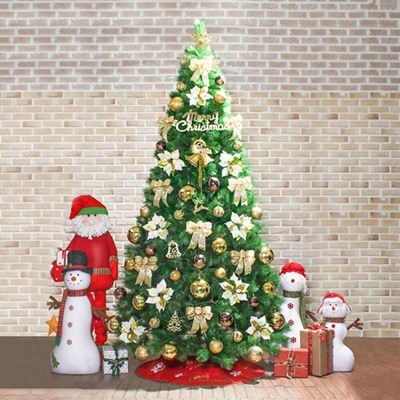 270cm 카니발 골드 솔잎 풀세트 트리/크리스마스트리