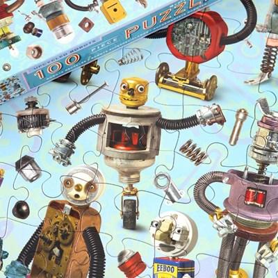 [이부] 업사이클 로봇 100피스 퍼즐 / 5세이상