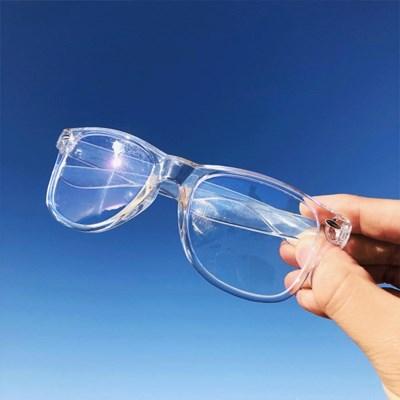 투명 블루라이트 안경 [Unique Design] 남녀공용