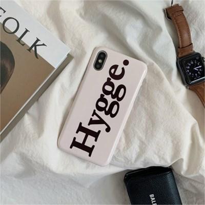 Denmark Hygge. Hard Case